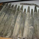 Canne metalliche prima del restauro