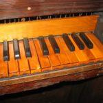 La tastiera originale, rinvenuta all