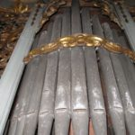 Canne di facciata prima del restauro