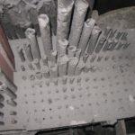 Canne interne prima del restauro