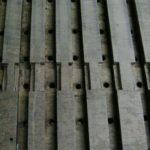 Particolare canali del somiere maestro aperti durante il restauro