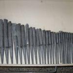 Registro di flauto prima del restauro