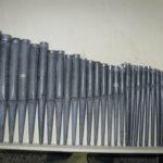 Registro di flauto restaurato