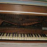 Tastiera e catenacciatura restaurate