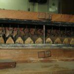 Ventilabri del somiere maestro prima del restauro