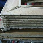 Mantice aperto durante il restauro