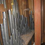 Canne lignee e metalliche restaurate e rimontate