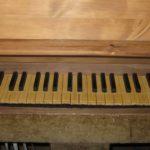 Tastiera ricostruita