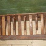 Pedaliera restaurata