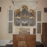 Vista complessiva dello strumento restaurato